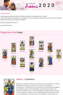 Tarot amour 2020